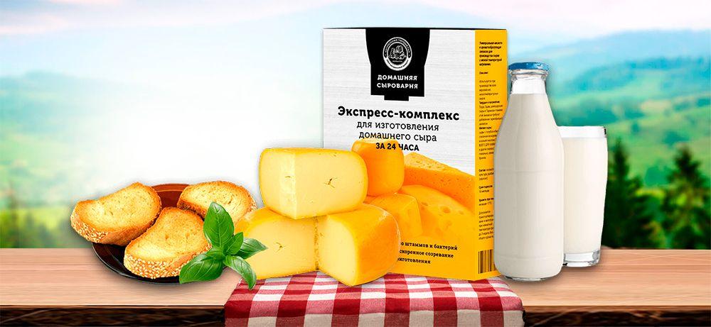 купить экспресс закваска для изготовления домашнего сыра