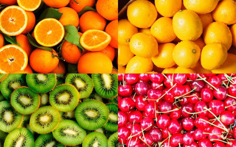 фрукты на подоконнике