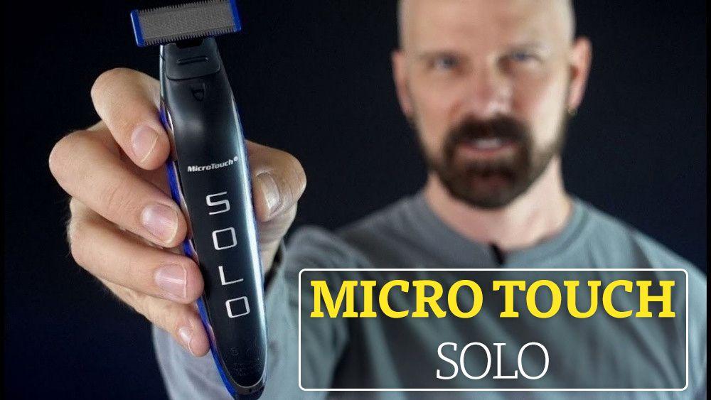 купить Micro Touch Solo (Микро Тач Соло) – триммер для мужчин