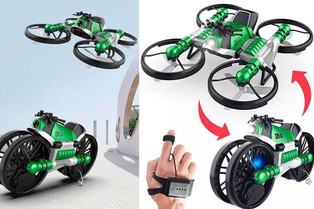 купить Fly Drive (Флай Драйв) - мото-квадрокоптер 2 в 1