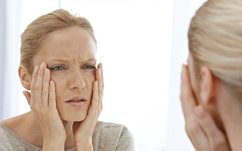 повисла кожа лица
