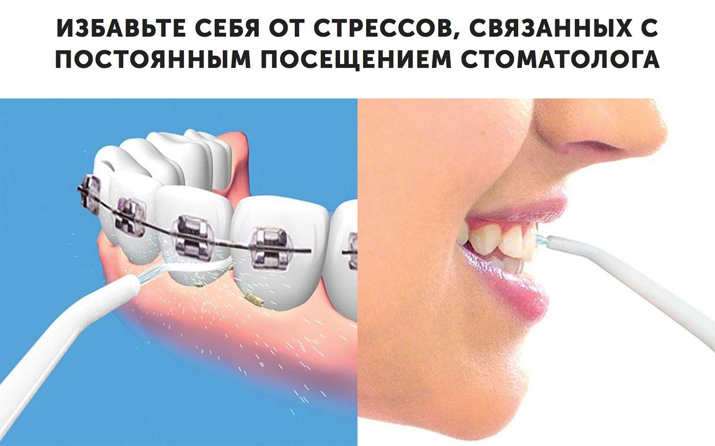 Power Floss - ирригатор для зубов свойства