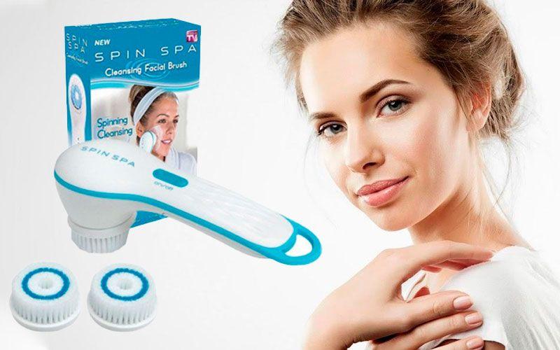 купить Spin spa Cleansing Facial Brush - электрическая щеточка для лица