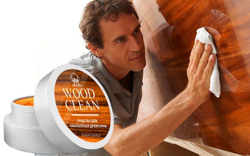 купить WoodClean (ВудКлин) - универсальное средство обновления древесины