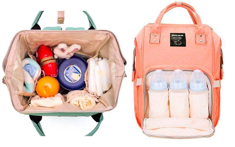 вместительный рюкзак для мамы