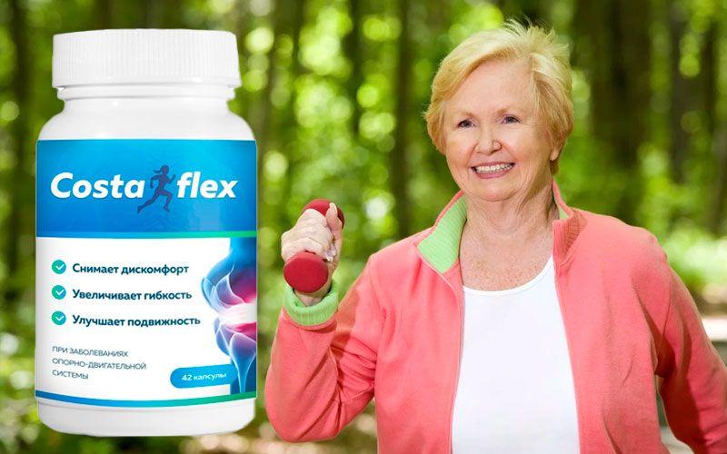 купить Costaflex (Костафлекс) - капсулы для здоровья суставов