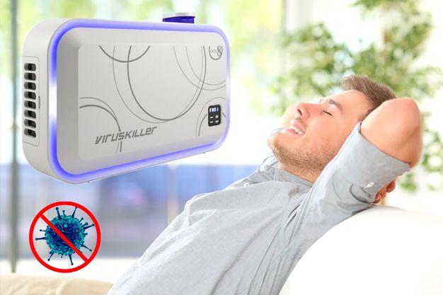 купить VirusKiller (Вирускиллер) - портативный очиститель воздуха от вирусов и бактерий