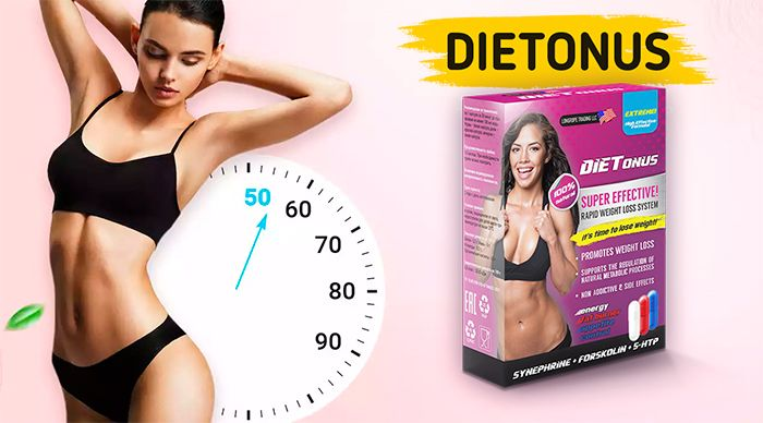 Dietonus (Диетонус) - трёхфазное средство для снижения веса купить