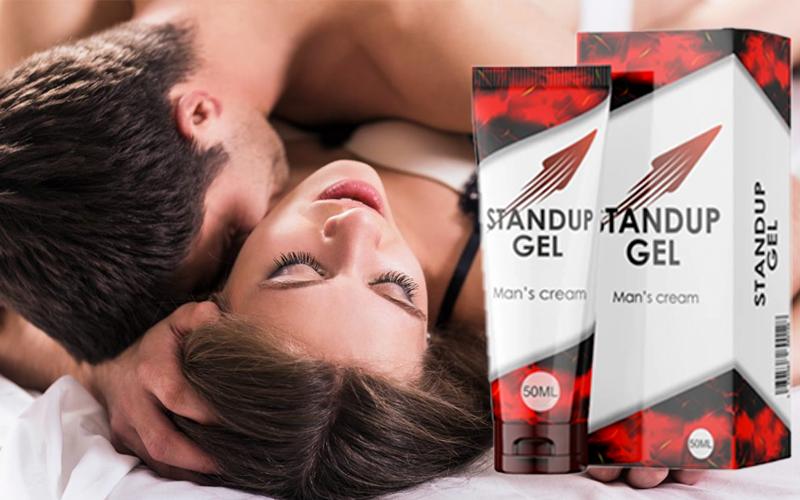 купить StandUP Gel (СтандАп Гель) - крем для потенции