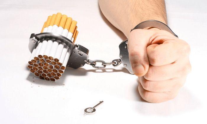 курение зависимость