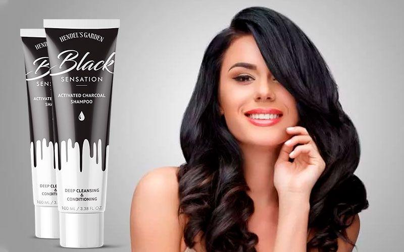 купить Black Sensation (Блек Сенсейшн) - детокс-шампунь с натуральными компонентами