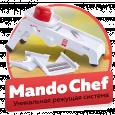Овощерезка Mandochef - терка шинковка для нарезки овощей и фруктов