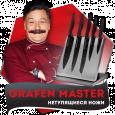 Grafen Master (Графен Мастер) - набор нетупящихся ножей