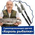 Самоподсекающая удочка «Король рыбалки» + Катушка