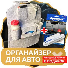 Органайзер для авто + Антидождь