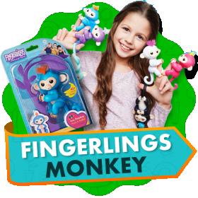 Обезьянки Fingerlings
