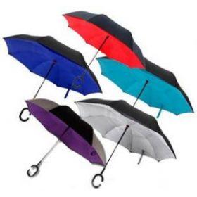 Обратный ветрозащитный зонт