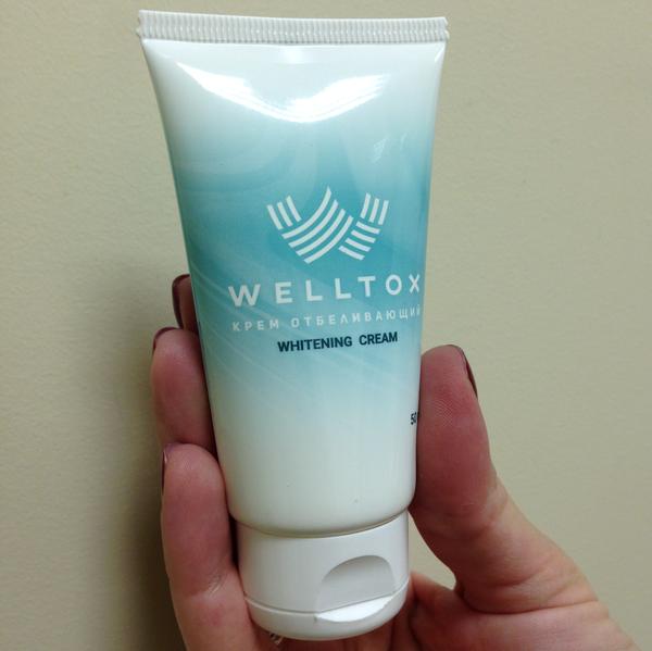 Купить Welltox (Велтокс) - крем для отбеливания кожи