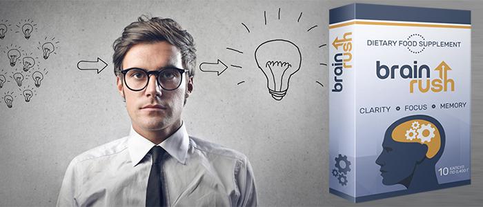 Купить BrainRush (БраинРаш) - капсулы для улучшения памяти