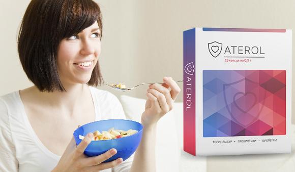 Купить Aterol (Атерол) - средство для снижения холестерина