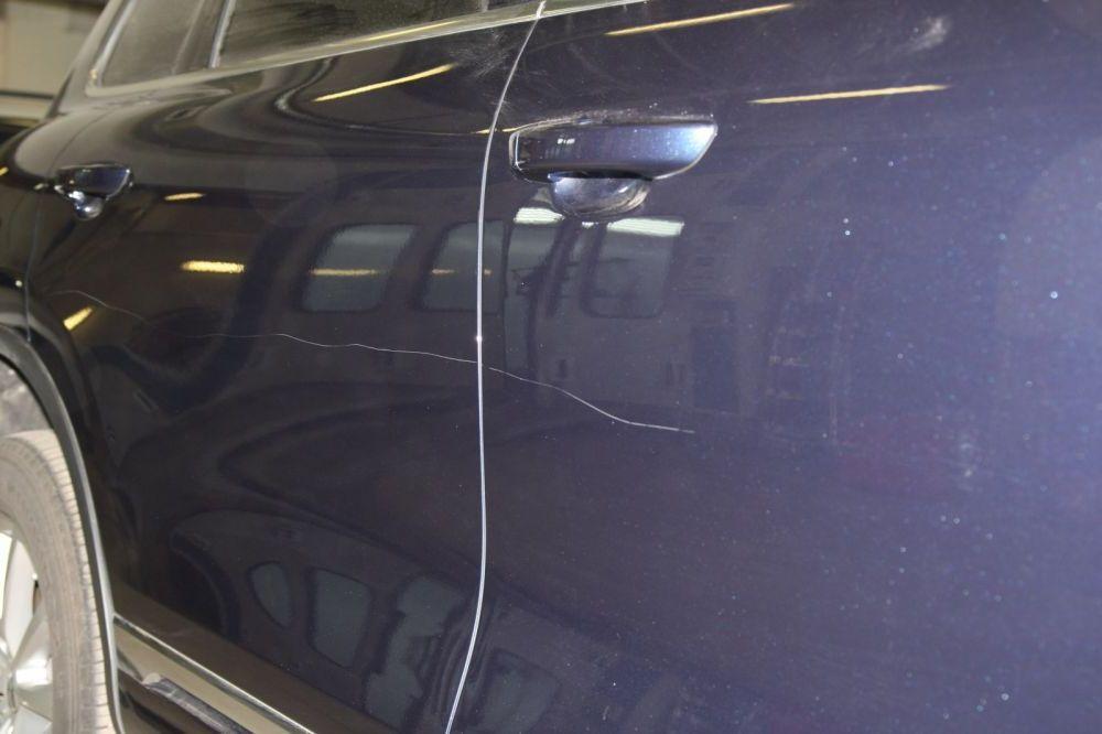 царапины на краске авто