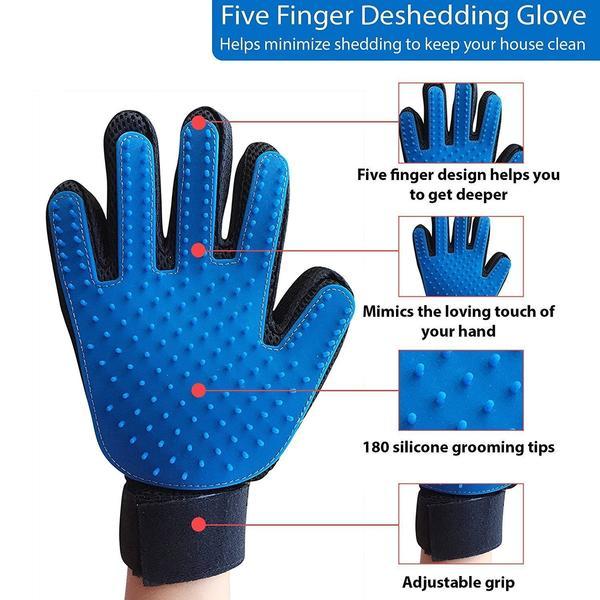 купить Pet Brush Glove - перчатка для снятия шерсти с животных
