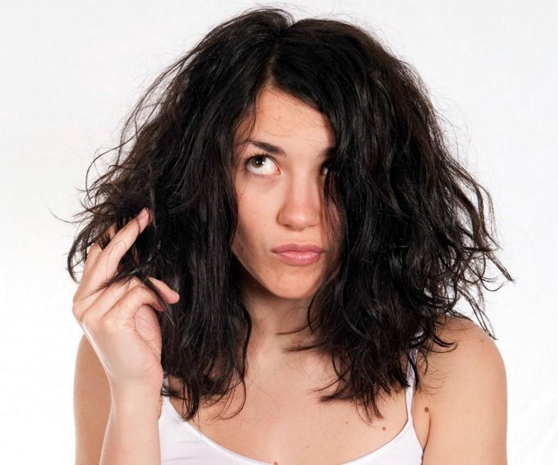 безжизненные волосы