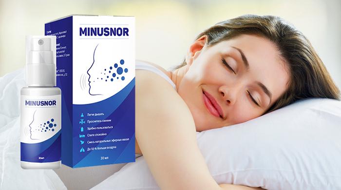 купить Minusnor (Минуснор) - спрей от храпа