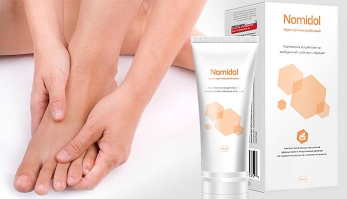 купить Nomidol - крем от грибка ног