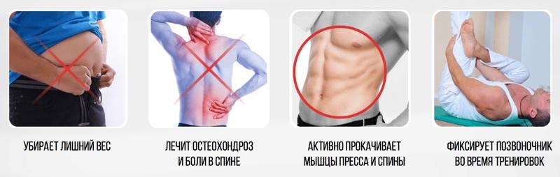 Ортопедическое белье ACTIVEMAX свойства